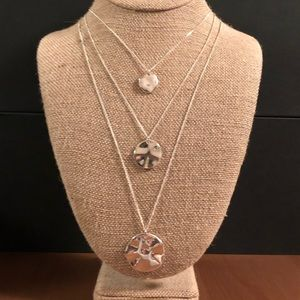 Three Row Convertible Necklace